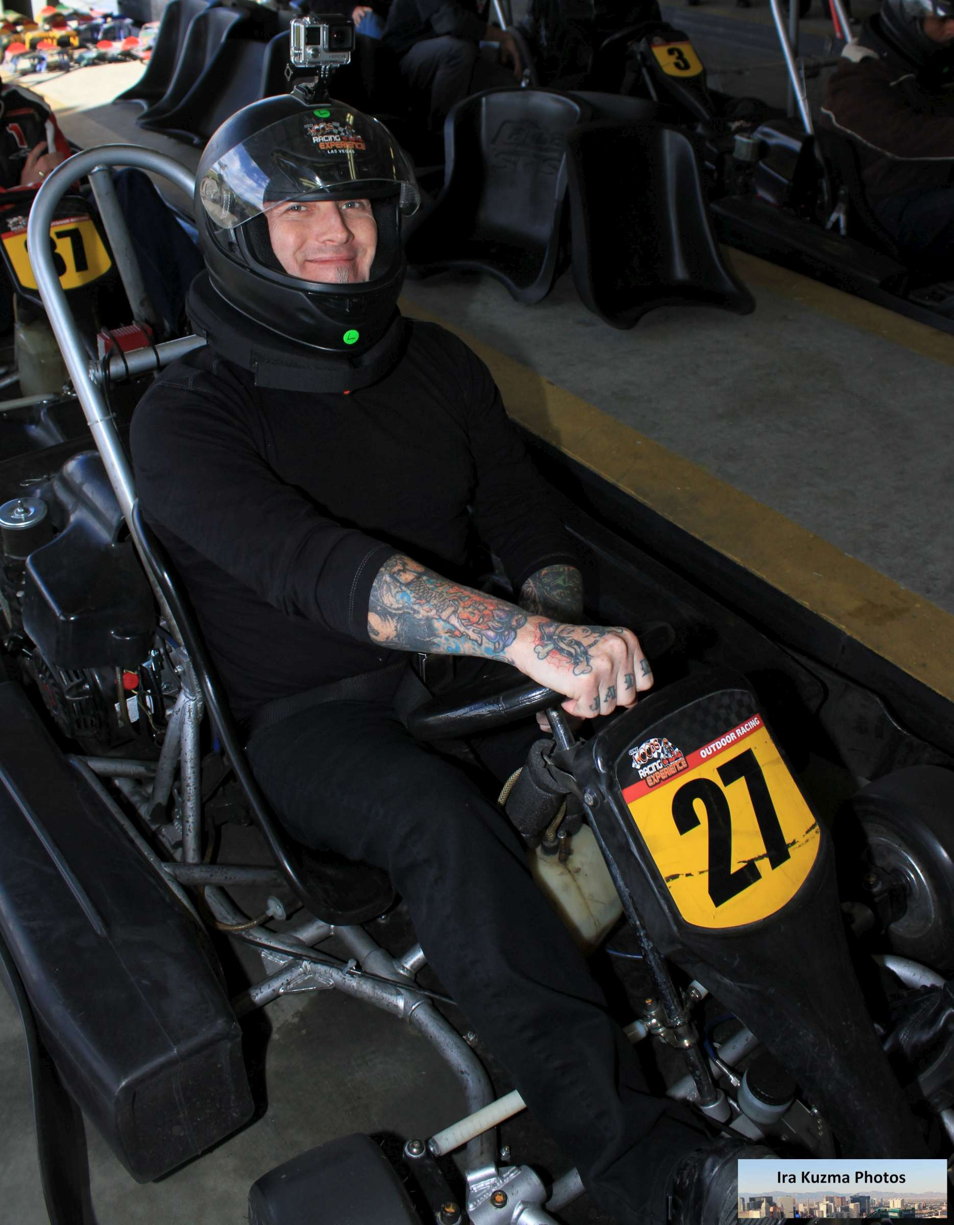 Mike Hammer's Celebrity Go-Kart Race – Start Your Engines